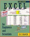Excel for Engineers and Scientists, Bloch, S. C., 0471256862