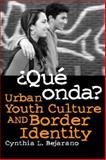 Que Onda? : Urban Youth Culture and Border Identity, Bejarano, Cynthia L., 0816526869