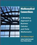 Mathematical Connections : A Modeling Approach to Finite Mathematics, Pollack-Johnson, Bruce and Borchardt, Audrey F., 0135766877