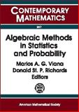 Algebraic Methods in Statistics and Probability, Ams Special Session on Algebraic Methods in Statistics, 0821826875