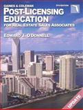 Florida Post-Licensing Education for Real Estate Salespersons, Coleman, David and O'Donnell, Edward J., 0793186870