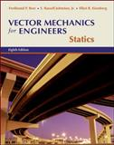 Vector Mechanics for Engineers : Statics, Beer, Ferdinand Pierre and Eisenberg, Elliot R., 007297687X