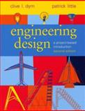 Engineering Design : A Project-Based Introduction, Dym, Clive L. and Little, Patrick, 0471256870
