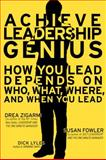 Leadership Genius, Drea Zigarmi and Dick Lyles, 0131486888