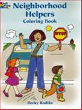 Neighborhood Helpers Coloring Book, Becky Radtke, 0486436888