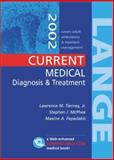 Current Medical Diagnosis and Treatment 2002, Tierney, Lawrence M. and McPhee, Stephen J., 0071376887