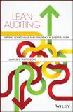 Lean Auditing, James C. Paterson, 1118896882