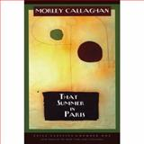 That Summer in Paris, Callaghan, Morley, 155096688X