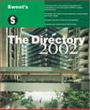 Sweet's the Directory 2002, Sweet's Group Staff, 0071386890