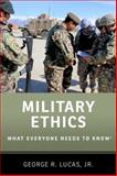 Military Ethics 1st Edition