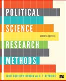 Political Science Research Methods, Janet Buttolph Johnson and H. T. Reynolds, 1608716899