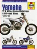 Yamaha YZ and WR 4-Stroke Motocross and off-Road Bikes, '98-'08, John H. Haynes, 156392689X