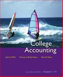 College Accounting: Chapters 1-14, Wild, John J. and Richardson, Vernon J., 0073346896