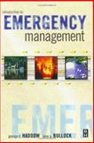 Introduction to Emergency Management, Haddow, George and Bullock, Jane, 0750676892