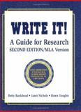 Write It!, Betty Bankhead and Janet Nichols, 1563086891