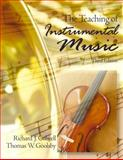 The Teaching of Instrumental Music 9780130206893