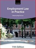 Employment Law in Practice, The City Law School, 0199686890