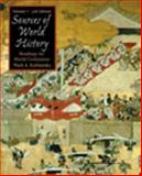 Sources in World History : Readings for World Civilization, Kishlansky, Mark and Lively, Susan Lindsey, 0534586899