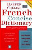 HarperCollins French Concise Dictionary, HarperCollins Publishers Ltd. Staff, 0060956895
