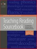 Teaching Reading Sourcebook Updated 2nd Edition, Honig, Bill and Diamond, Linda, 157128690X