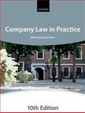 Company Law in Practice, The City Law School, 0199686904