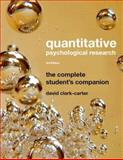 Quantitative Psychological Research, Clark-Carter, David, 1841696900