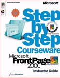 Microsoft FrontPage 2000 Step by Step Courseware, ActiveEducation Staff, 0735606900