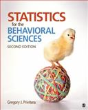Statistics for the Behavioral Sciences, Privitera, Gregory J., 1452286906