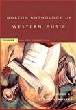 The Norton Anthology of Western Music 9780393976908
