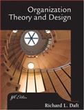 Organization, Theory and Design 9780324156911