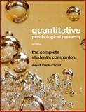 Quantitative Psychological Research 9781841696911