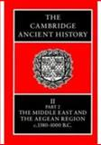 The Middle East and the Aegean Region, C. 1380-1000 BC Vol. 2, Pt. 2, , 0521086914
