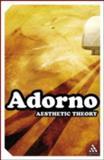 Aesthetic Theory, Adorno, Theodor W., 0826476910