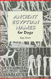 Ancient Egyptian Names for Dogs, Kay Durr, 093186691X