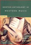The Norton Anthology of Western Music, , 0393976912