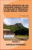 Sistema Alimentario de una Comunidad Indígena Panare o e'ñepa Del Río Maniapure, Estado Bolívar, Venezuela, Antonio González-Fernández, 1500616923