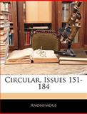 Circular, Issues 151-184, Anonymous, 1145426921