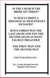 Is the Church the Bride of Christ?, Repsaj Jasper, 1483926923