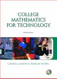 College Math for Technology and Premium Companion Website Access Code Card Package, Cleaves, Cherly and Hobbs, Margie, 0131436937