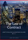 The Law of Contract, Hilliard, Jonathan and O'Sullivan, Janet, 0199686939