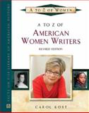 A to Z of American Women Writers, Kort, Carol, 0816066930