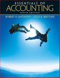 Essentials of Accounting, Anthony, Robert N. and Breitner, Leslie K., 013149693X