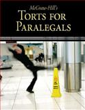 McGraw-Hill's Torts for Paralegals, Schaffer, Lisa and Wietecki, Andrew, 0073376930