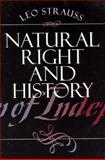 Natural Right and History, Strauss, Leo, 0226776948