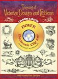 Treasury of Victorian Designs and Emblems, Palm and Fechteler Staff, 0486996948