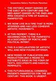Manifesto Marathon, Serpentine Gallery, , 3865606946