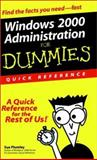Windows 2000 Administration for Dummies, Sue Plumley, 0764506943