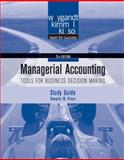 Managerial Accounting : Tools for Business Decision Making, Weygandt, Jerry J. and Kieso, Donald E., 0470506954