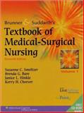 Medical-Surgical Nursing, Smeltzer, Suzanne C. and Bare, Brenda G., 0781766958