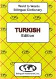 Turkish Word to Word Bilingual Dictionary, C. Sesma, 0933146957